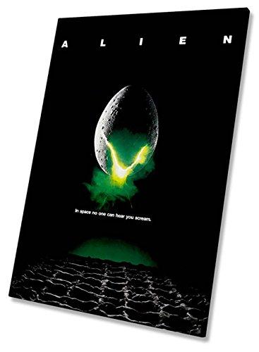 Póster de la película Alien Lienzo enmarcado impresión 20x 30pulgadas