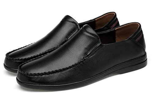 Keepblance First Layer of Cow Leather Business Casual Shoes Loafers & Slip-ons Shoes for Men