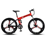 PsWzyze Mountain Bicycle,26/24 inch lightweight folding mountain bike, small portable road bike