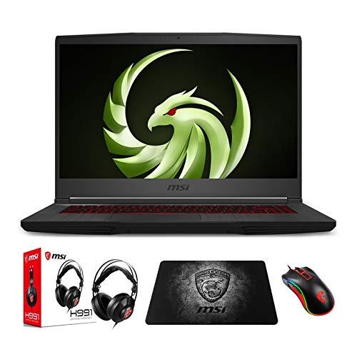 "MSI Bravo 15 A4DDR-248 (AMD Ryzen 5 4600H, 32GB RAM, 1TB NVMe SSD, Radeon RX5500M 4GB, 15.6"" 144Hz FHD, Windows 10) Gaming Notebook"