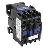 Heschen AC Contactor CJX2-1201 24V 50/60Hz Bobina 3P 3 polos normalmente cerrado Ie 12A Ue 380V
