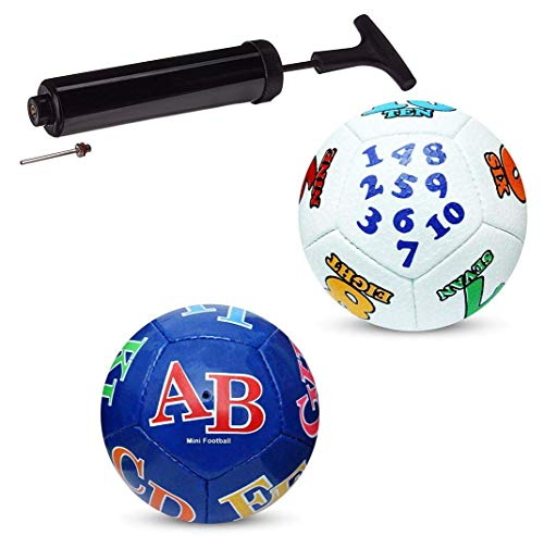 Ramex Mini Football for Kids to Play at Home, Garden and Beach, with Free Pump