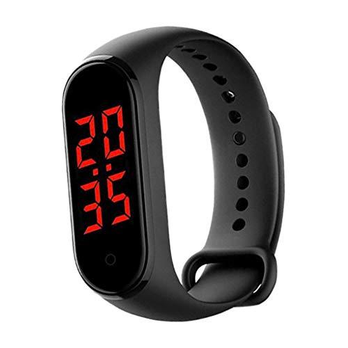 #N/A - Reloj inteligente para mujer y hombre, pulsera inteligente con pulsómetro, resistente al agua IP67