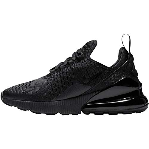 Nike Air Max 270 Bg, Scarpe da Fitness Uomo, Black/Black-Total Orange, 39 EU