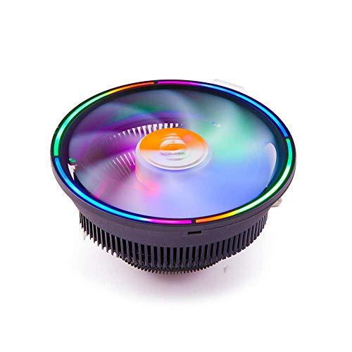 pas cher un bon Ventilateur CPU GOLDEN FIELD MHT avec refroidisseur CPU LED multicolore 127 mm…