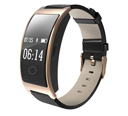 CK11S Smart Bluetooth Bracelet Blood Pressure Heart Rate Monitor Wrist Watch Fitness Tracker Pedometer Wristband,C