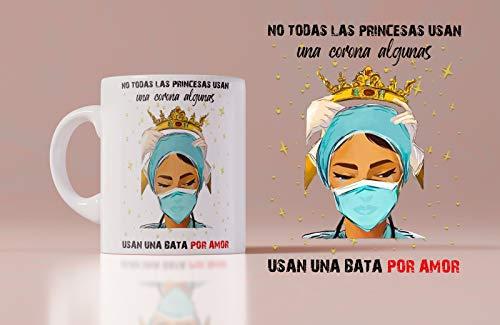 Taza Cerámica Homenaje Enfermeras AAA+ Especial Zurdos