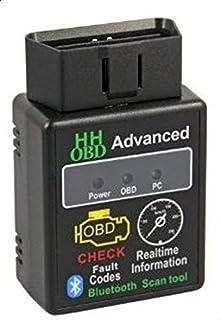 جهاز اتش اتش او بي دي ميني متطور لاسلكي لكشف أعطال السيارة يدعم نظام بلوتوث، لسيارات اودي و فولكس فاغن