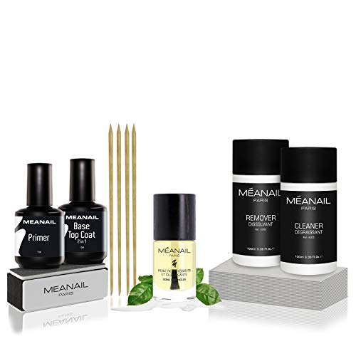 Kit manucure soin des ongles + essentiels semi permanent - NEW  Huile ongles nourrissante...