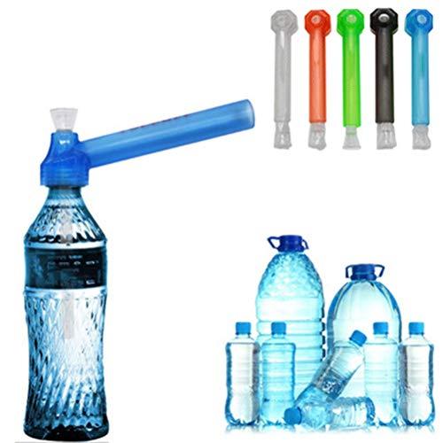 水パプ ペットボトルガラスパイプ【ペットボトルが本格的な水パイプになるパー】 喫煙具/ 水タバコ/パイプ /煙道/煙/煙草 bongパイプ/ボング/ガラスパイプ 【 色はランダムです】