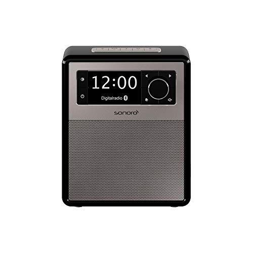 sonoro Easy Digitalradio 2018 (UKW/FM/DAB+, AUX-in, USB, Bluetooth, Wecker) Schwarz