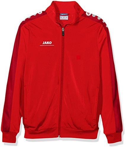 JAKO Kinder Jacke Polyesterjacke Striker, rot, 152