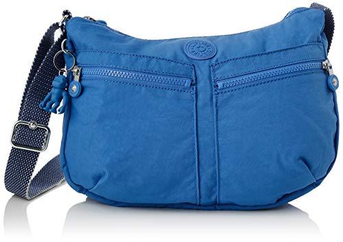 Kipling Izellah, Bolso con Bandolera para Mujer, Azul (Wave Blue), 33x23x12 cm