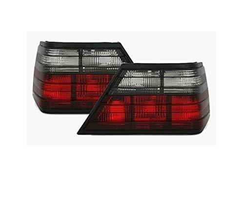 V-Maxzone VT89 Lot de feux arrière en verre transparent Rouge fumé