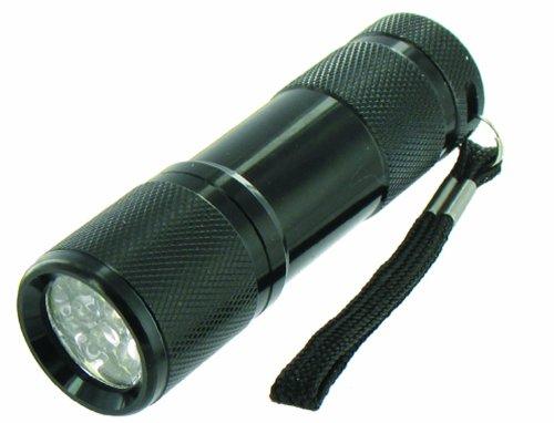 Highlander Cobra Ultra Bright Lampe de poche 9 LEDs Noir