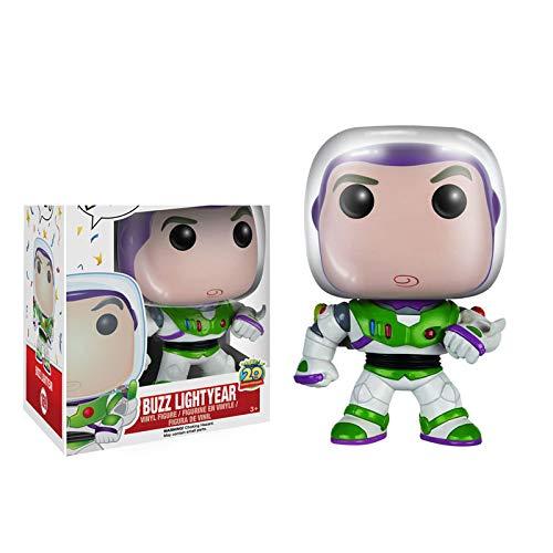 Figuras Pop Dibujos Animados Toy Story Buzz Lightyear # 169 Figura De Acción De Vinilo 10Cm, Colección De PVC Modelo Juguetes para Niños Regalo De Cumpleaños