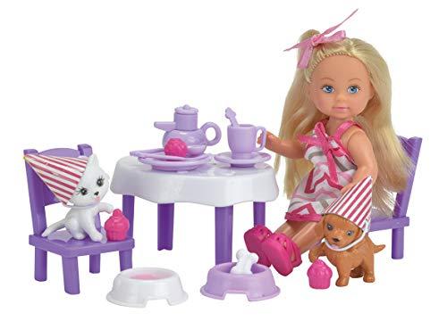 Simba - Evi Love Fête des Animaux - Mini Poupée 12cm - 2 Figurines + Accessoires - 105732831