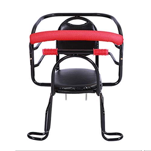 Asiento Trasero De Bicicleta para Bebés, Portabebés De Seguridad para Niños, Portabicicletas Universal, Cinturón De Seguridad Acolchado para Asiento De Niño De 2-6 Años