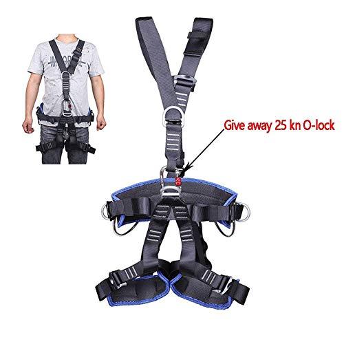 GYC Imbracatura di Sicurezza a 5 Punti, Cintura di Sicurezza con Imbracatura Rimovibile per Protezione anticaduta.