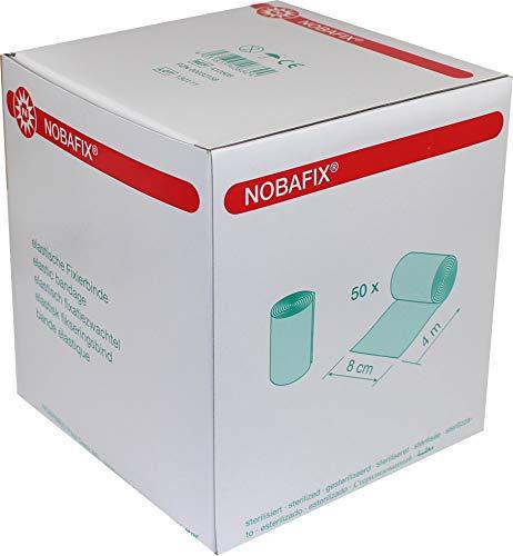 Nobafix Fixierbinden 4m x 8cm elastisch 50 Stück