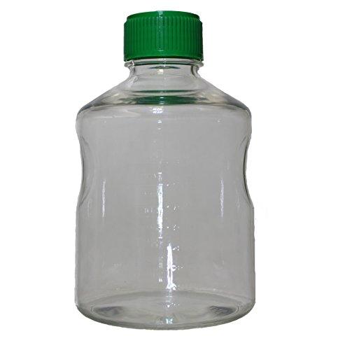 1000 mL Vacuum Filter Reservoir Bottle, Polystyrene, Sterile, Case of 12