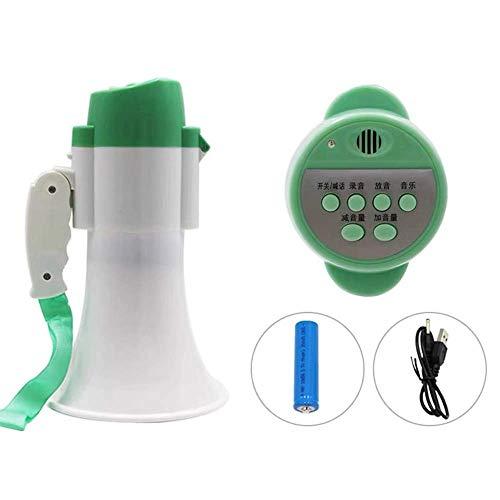 Zixin Tragbares Megaphon Hand Große Lautsprecher 600 Yards Verbreiten Faltbare Griff High-Power-Lithium-Batterie Megafon, A