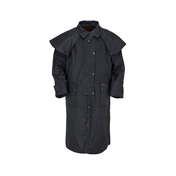 Outback Trading Oilskin Low Rider Duster