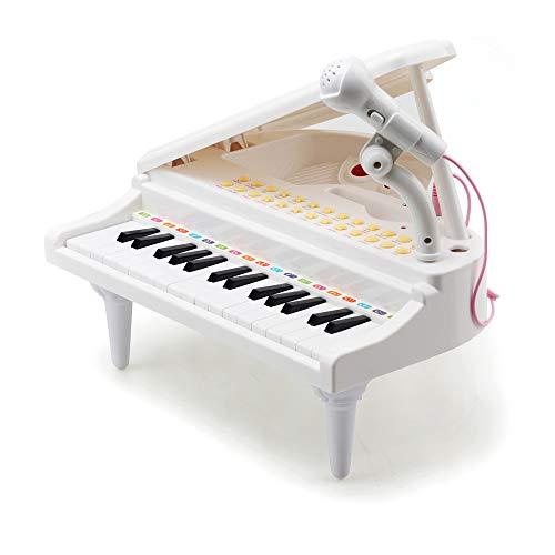 Amy & Benton Juguete Piano niño 2 años, 31 Teclas Instrumentos Musicales de Juguete 1 años, Regalo del Bebé 3 años, Educativo Teclado con Micrófono