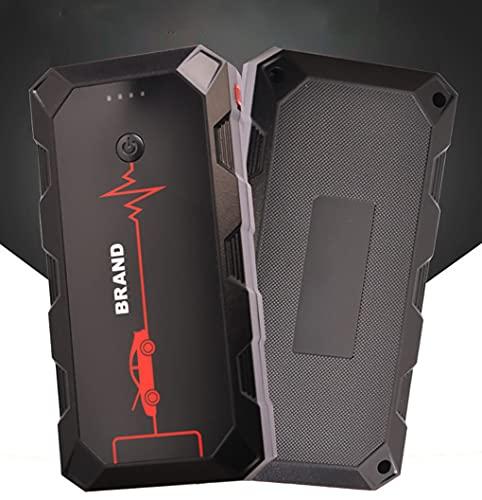 Riloer 30000mAh Multifuncional Smart Car Battery Jump Starter Kit, Amplificador de Potencia de Arranque de Emergencia Portátil al Aire Libre, Cargador de Batería Inteligente, para 12V Coche