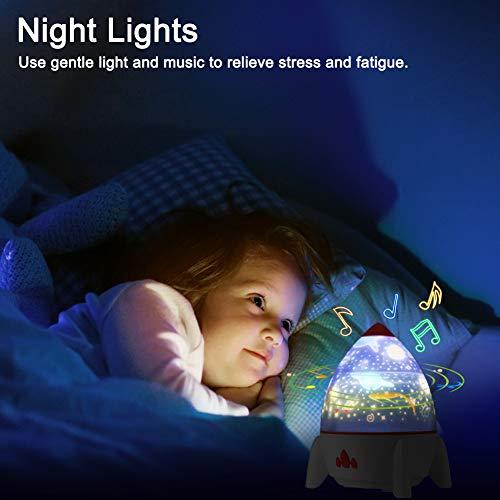 CrazyFire Star Projector Night Light