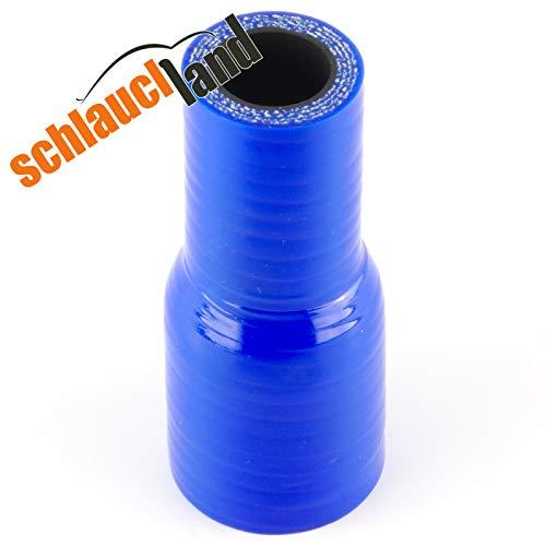Silikon-Reduzierstück ID 45-38mm blau*** Silikonschlauch Reduzierer Silikon Reduzierung LLK