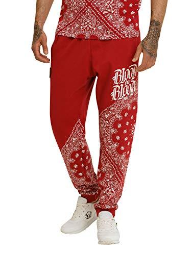 Blood In Blood Out Bandana Sweatpants - rot 2XL