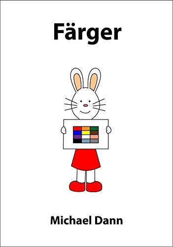 Färger (Lär med Kiki Book 1) (Swedish Edition)