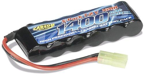 Carson 500608103 - Akku 7,2V / 1400 mAh 2 /3 AA Mini Tamiya