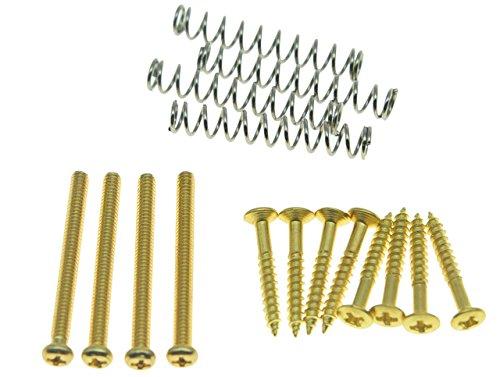 kaish pastilla Humbucker Pickup Tornillos de altura Anillo Envolvente tornillos de montaje Kit