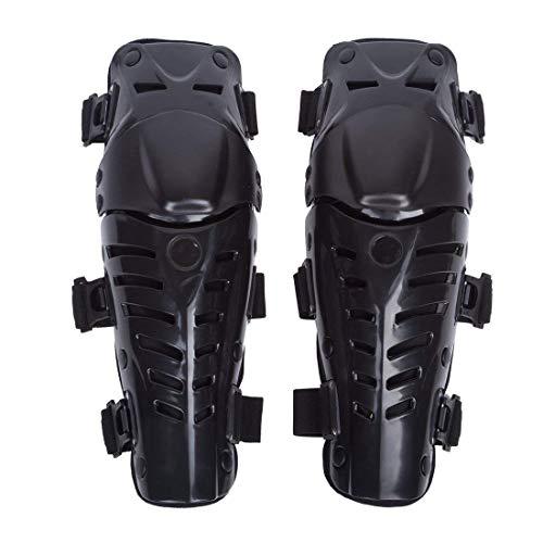 WILDKEN Adultos Rodilleras Moto Enduro Espinillera Motocross Protección de Rodilla Corporal Protector Rodilla Motocicleta Bicicleta para Protector Caballero al Aire Libre (Negro Fresco)
