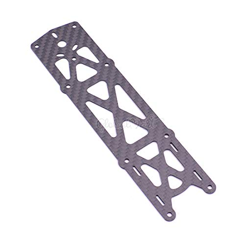 Parts & Accessories 1.5mm Top Bottom Plate Carbon Fiber Spare Parts Accessories for Reptile Martian II 220mm 250mm 290mm 330 Quadcopter Frame Drone - (Color: Top Plate)