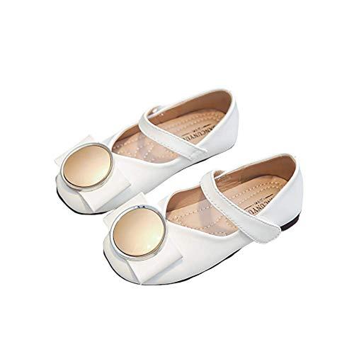 N/P Joeupin Zapatos de vestir para niña bailarina Mary Jane zapatos planos...