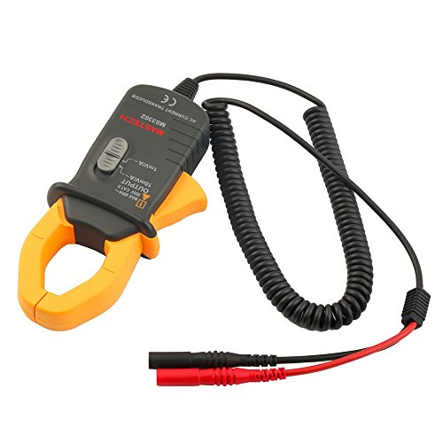 MASTECH MS3302 AC Current Transducer 0.1A-400A Clamp Meter Test