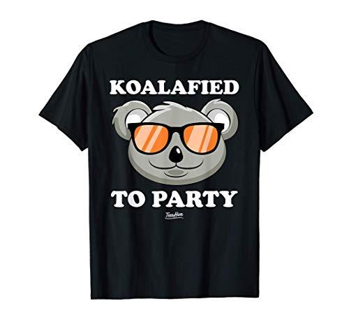 Koalified To Party Koala T-Shirt