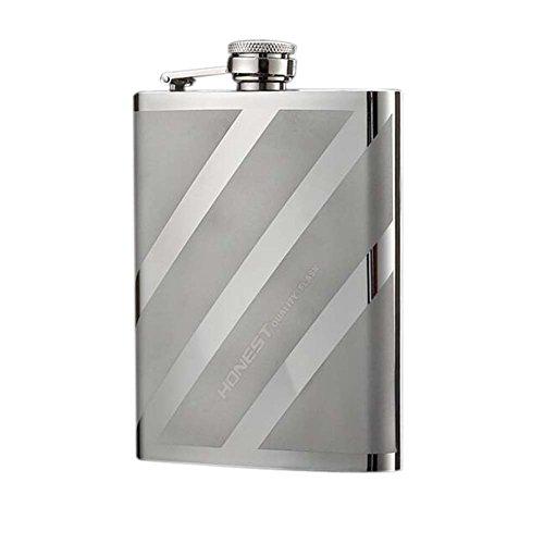 Petit vin Flagon Pot Cruche Portable Whisky Jug Portable Flagon