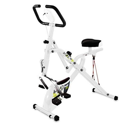 Tecnovita by BH–DoubleFit Cyclette Unisex adulto, Bianco