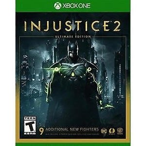 Injustice 2 for Xbox One rated T - Teen