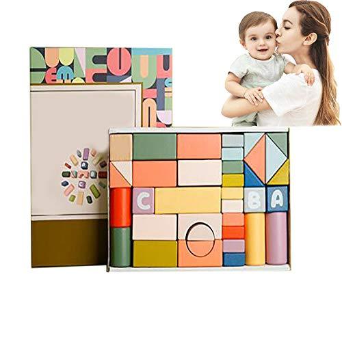 Houten Bouwstenen Speelgoed Voor Kinderen Van 3-6 Jaar Oude Baby Puzzel Strijd Veelzijdige Bouwstenen Voor Jongens En Meisjes Indoor Creatief Speelgoed