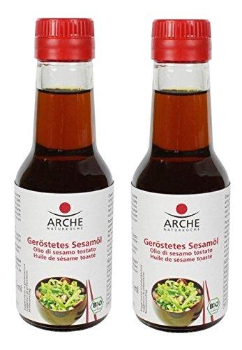 Arche Naturküche Bio Sesamöl, geröstet (2 x 145 ml)