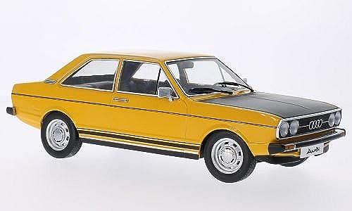 Obtén lo ultimo Audi Audi Audi 80 GTE, dunkelamarillo negro mate, Modelo de Auto, modello completo, KK-Scale 1 18  ventas directas de fábrica
