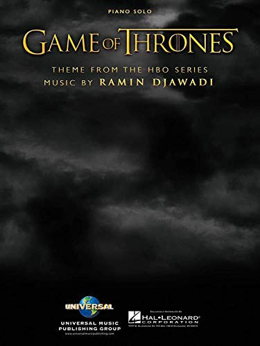 Game of Thrones – PIANO – BOOK