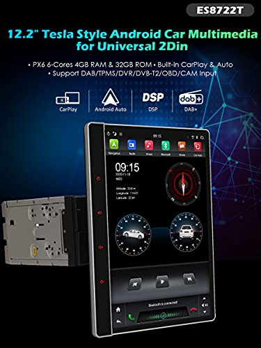 Erisin kompatibles Autoradio ES8722T 12.2