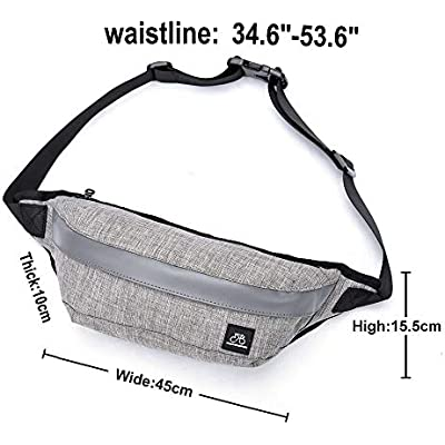 HPLQM Bum/Bag/Waist/Bag/fanny/pack/bumbags/walking/bum/pouch/for/Sports/Camping/Hiking/Running