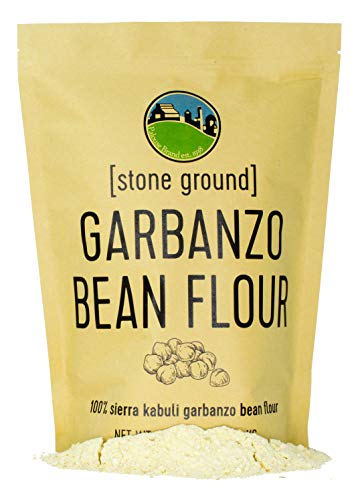 Garbanzo Bean Flour • Chickpea Flour • 100% Desiccant Free • 3 LBS • Non-GMO Project Verified • 100% Non-Irradiated • Certified Kosher Parve • USA Grown • Field Traced • Kraft Bag